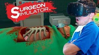 El Mejor Cirujano  Surgeon Simulator Htc Vive Vr