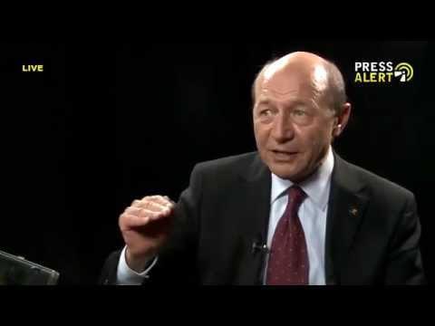 PRESSALERT LIVE - Emisiune 11.05.2014 / Invitat : Traian Basescu, Presedinte al Romaniei