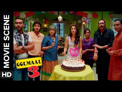 Happy Birthday Daboo | Golmaal 3 | Comedy Movie Scene thumbnail