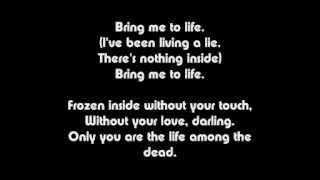 Wake Me Up Inside (Bring Me To Life) Lyrics