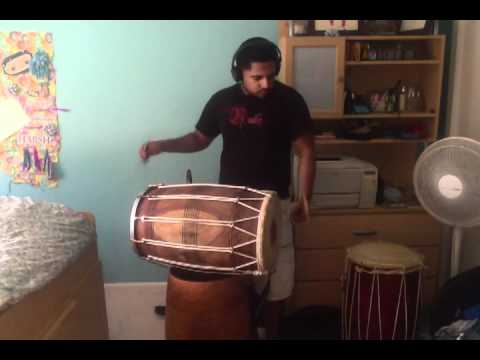Brown Rang - Dhol Cover video