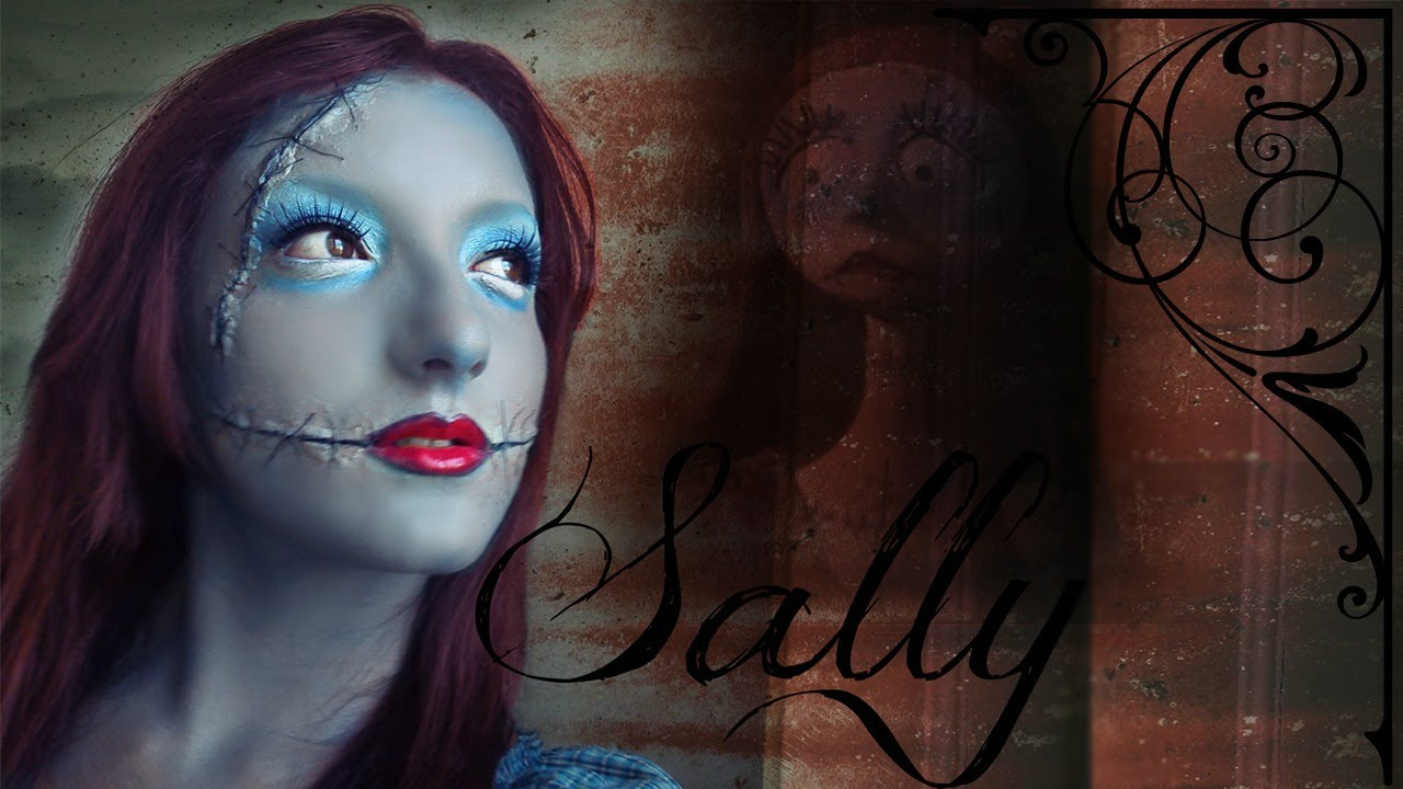 Nightmare Before Christmas Sally Makeup Tutorial