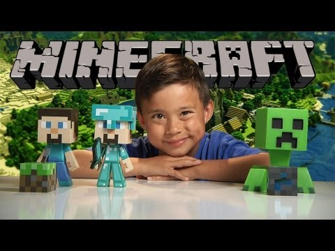 Minecraft DIAMOND STEVE? Vinyl Figure Review