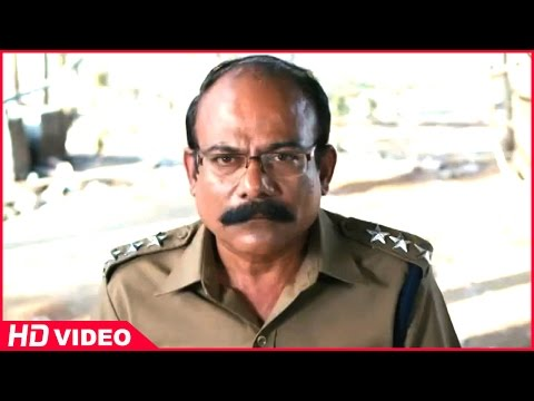 Thirudan Police Tamil Movie - Attakathi Dinesh holds commissioner and Nithin Sathya hostage