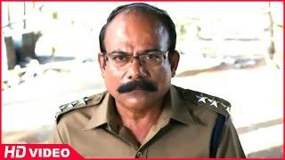 Attakathi - Thirudan Police Tamil Movie - Attakathi Dinesh holds commissioner and Nithin Sathya hostage