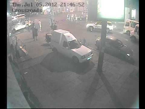 В Одессе мотоциклист протаранил Nissan