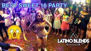 Ruby Alize Sweet 16 Party DJ Louie Mixx Latino Blends Cabrillo Plaza Marina