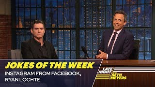 Seth's Favorite Jokes of the Week: Instagram from Facebook, Ryan Lochte