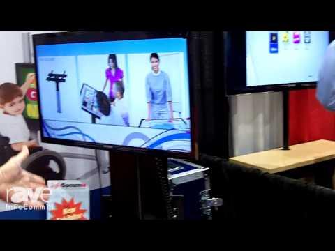 InfoComm 2014: Wood Technology Demonstrates Its Electric Flat Screen Lift Mechanisms