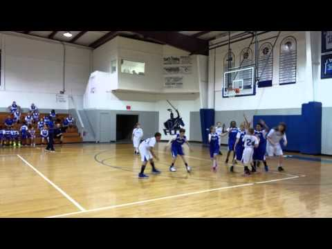 First Coast Christian School intramural Basketball - Older Kids - 04/07/2014