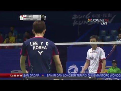 Thomas Cup 2016   Muhammad Ahsan Hendra S INA vs Lee Yong Dae Yoo Yeon seong KOR   Semifinal   You
