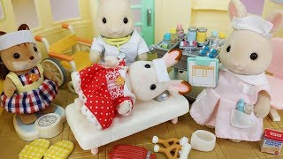 Baby doll doctor and rabbit Hospital toys play - 토이몽