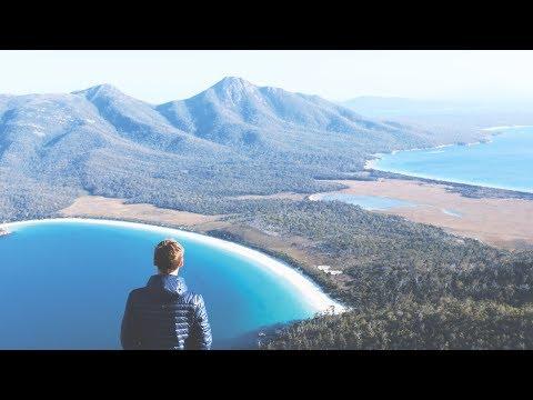 Weltreise Tag 643 • Wineglass Bay im Freycinet Nationalpark • Tasmanien • Vlog #100
