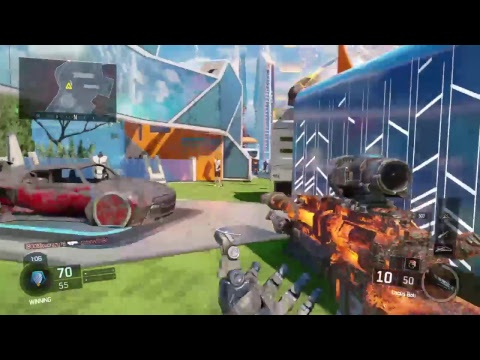 BO3 custom game with patriot