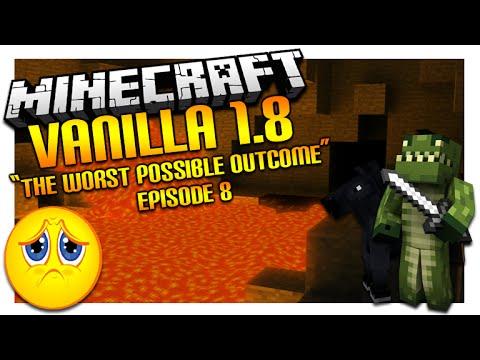 Vanilla Minecraft 1.8  