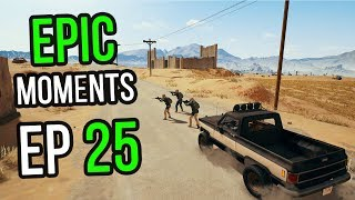 PUBG: Epic & Lucky Moments Ep. 25