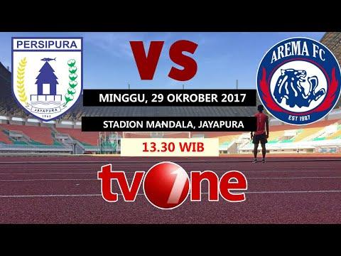 Jadwal Siaran Langsung Persipura Jayapura Vs Arema Fc 29 Oktober 2017