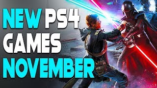 6 INSANE NEW PS4 GAMES COMING IN NOVEMBER 2019! - UPCOMING GAMES 2019