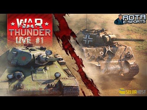 LIVE #1 - War Thunder Tanks
