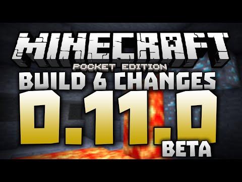 3D SKINS!!! - 0.11.0 Alpha Build 6 Review - Minecraft PE (Pocket Edition) 0.11.0 Beta