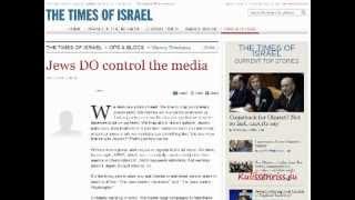 Jewish Newspaper: Jews DO control the media