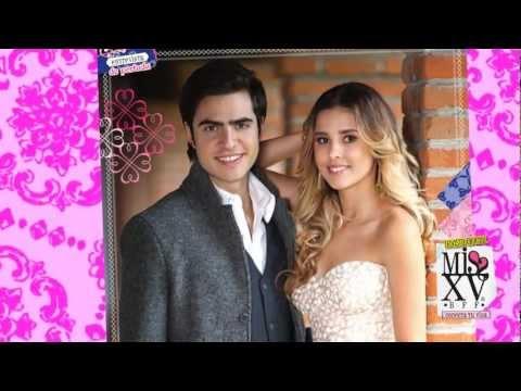 Yago Muñoz y Paulina Goto en behind scenes de la revista Miss XV