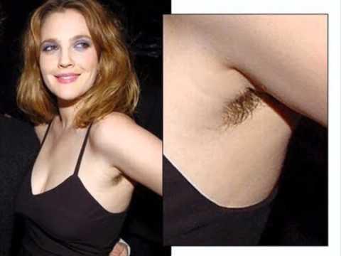 Hairy Celebrities