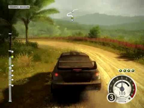 Colin McRae Dirt 2 PC Gameplay Phenom x3 Nvidia Geforce 8600 GT