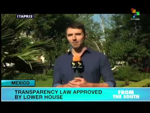 Transparency Law Approved in Mexico