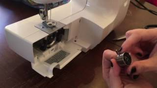 How to Thread the Brother LS-2000 Sewing Machine