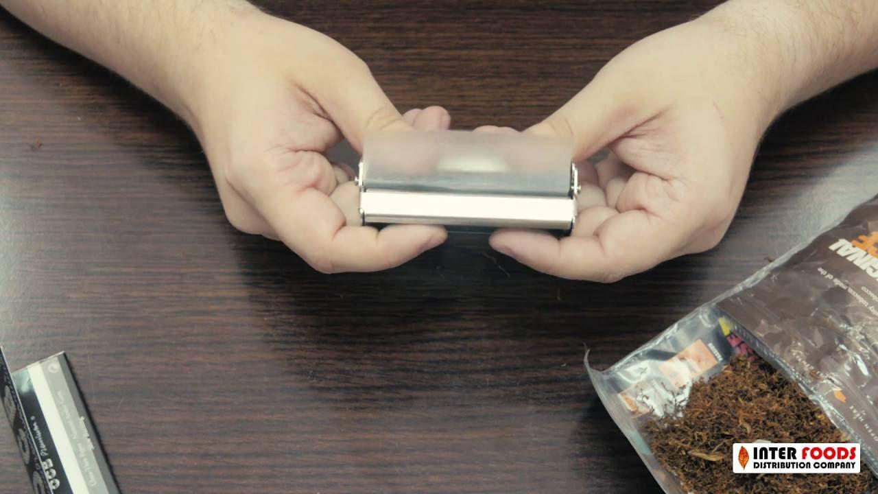 Как сделать сигарету при помощи машинки