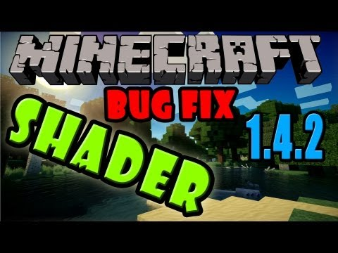 [1.4.2] Shader: Durchsichtige Hand Fix - Tutorial - Minecraft Mods & Reviews [German|HD]