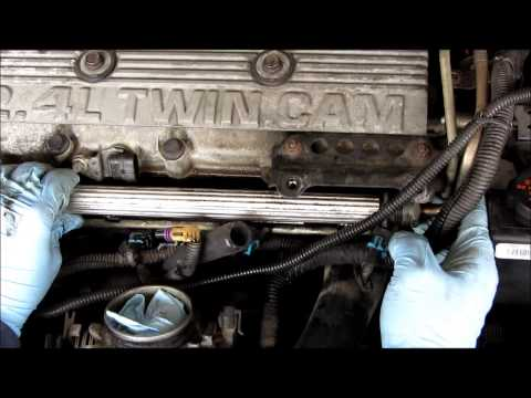 GM 2.4 fuel injector replacement