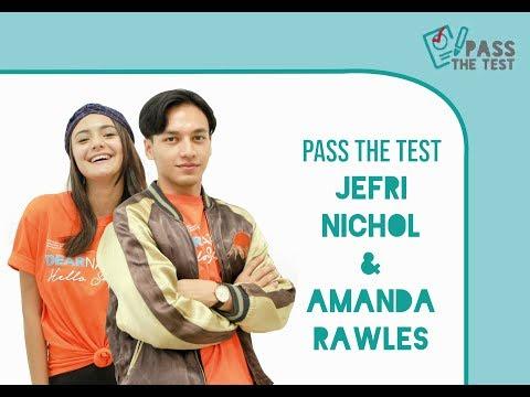 Amanda Rawles & Jefri Nichol Pernah Saling Baper Atau Enggak? #TanyaSeleb!