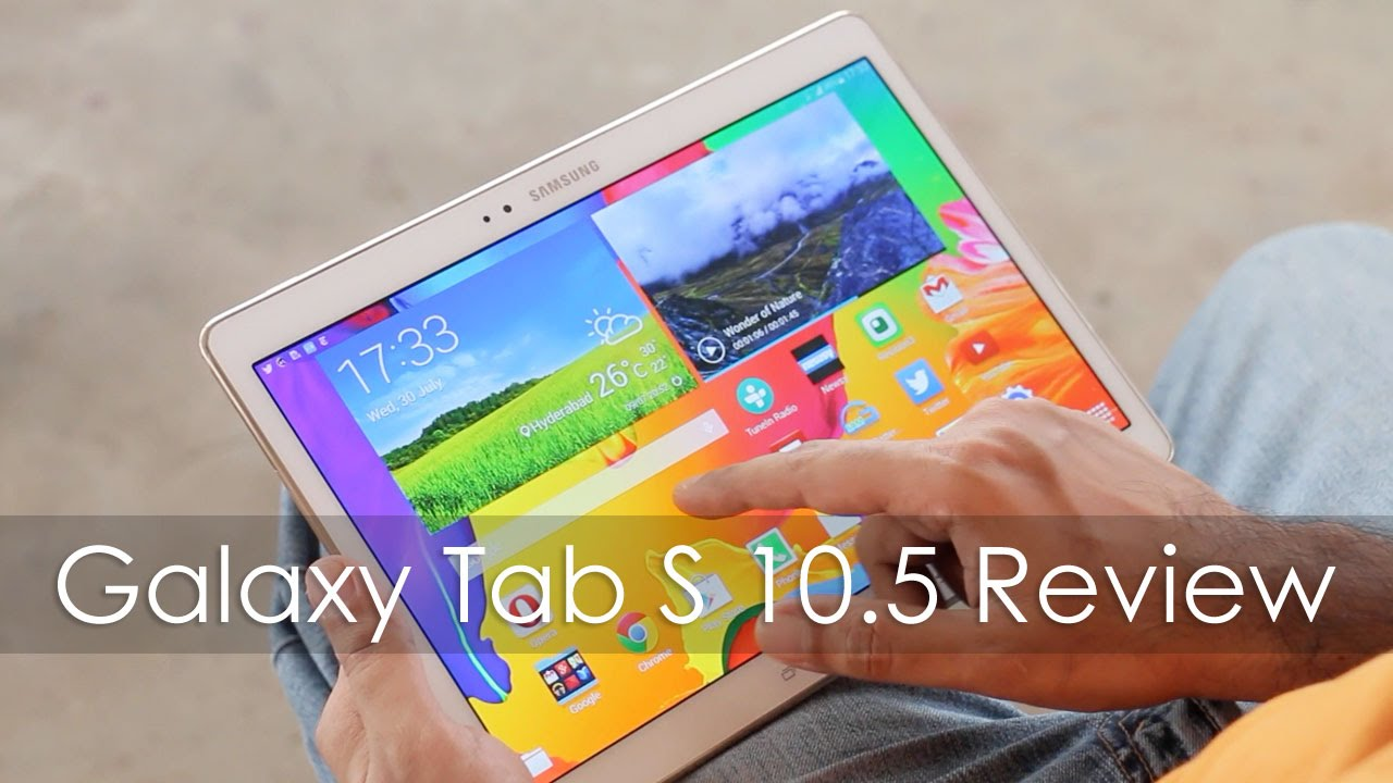 Samsung galaxy tab s 10 5 premium android tablet review youtube