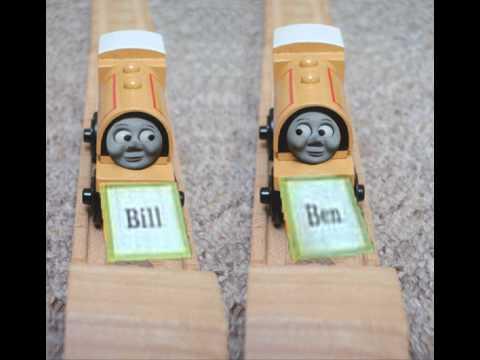 Thomas Wooden Railway Nameplates
