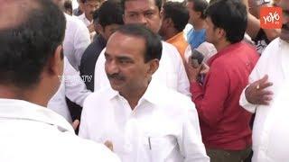 Minister Etela Rajender at Bandaru Dattatreya's Son Vaishnav Final Rites