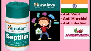 Himalaya Septilin Tablet - Review, Specifications, Price, Benefits, Side effects | Anti infective