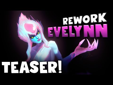Teaser EVELYNN [REWORK] | Noticias League of Legends
