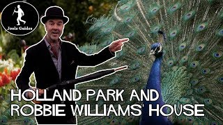 London's Peacocks and Holland Park