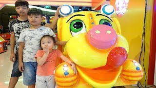 Family fun indoor playground with ABCkidTV Misa Doctor baby - Nursery rhymes song for children 2