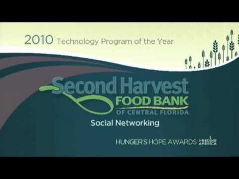 Second Harvest Receives National Recognition for Model Technology Program - Social Networking