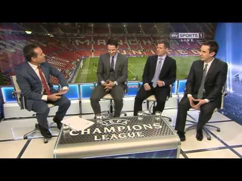 Jamie Redknapp on Ryan Giggs' performance against Olympiakos