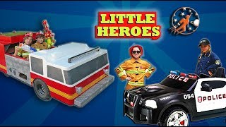 Little Heroes: Rescue Squad - Super Episode from New Sky Kids - Little Heroes vs The Icky Six