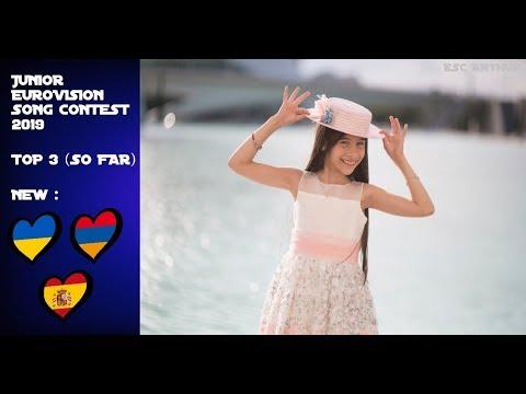 Junior Eurovision 2019 : My Top 3 (SO FAR) | + SPAIN