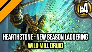 Hearthstone - New Season Laddering - P4 Wild Mill Druid