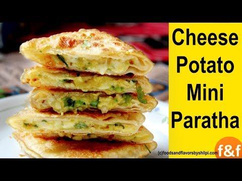Cheese Aloo Mini Paratha | बच्चों के टिफ़िन और नाश्ते में बनाएं Aloo Cheese Mini Paratha | Kids