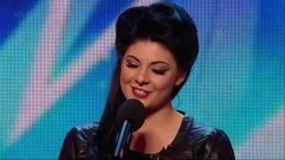 Britain's Got Talent S08E01 Lucy Kay Beautiful Opera Singer
