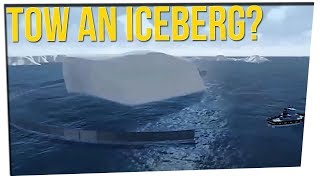 Businessman Wants to Drag An ICEBERG Across The Ocean (ft. Kelsey Darragh)