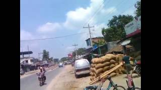This is the busy road of Paglapir Bazar in Rangpur District.